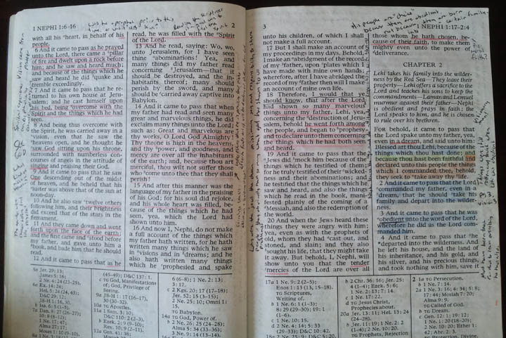 Lds Coloring Pages Pdf : Wide margin book of mormon u2013 study edition : the garden tower